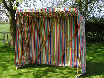 Stripes for the Garden – Garden Sun Shelters