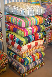 Striped Cushions Galore