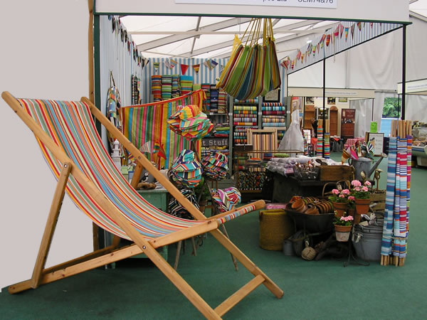 Deckchairstripes at Tatton Park RHS Show 2012