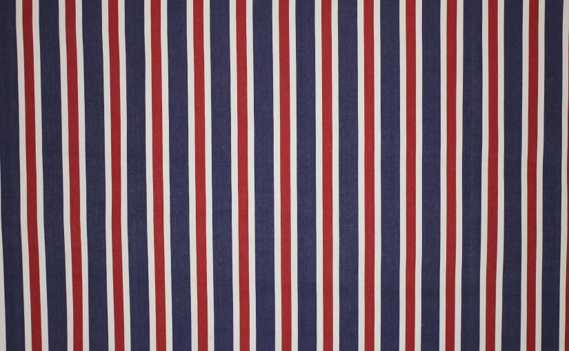 Red White and Blue Striped Fabrics – Patriotic Colours