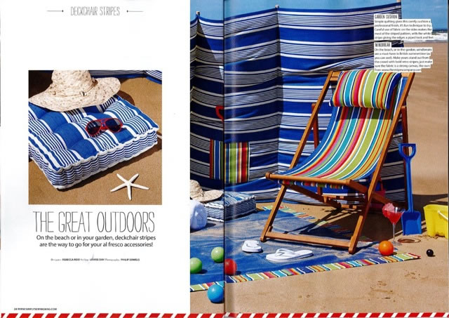 Make Your Own Deckchair Sling The Stripes Company Blog