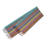 striped merino wool scarves