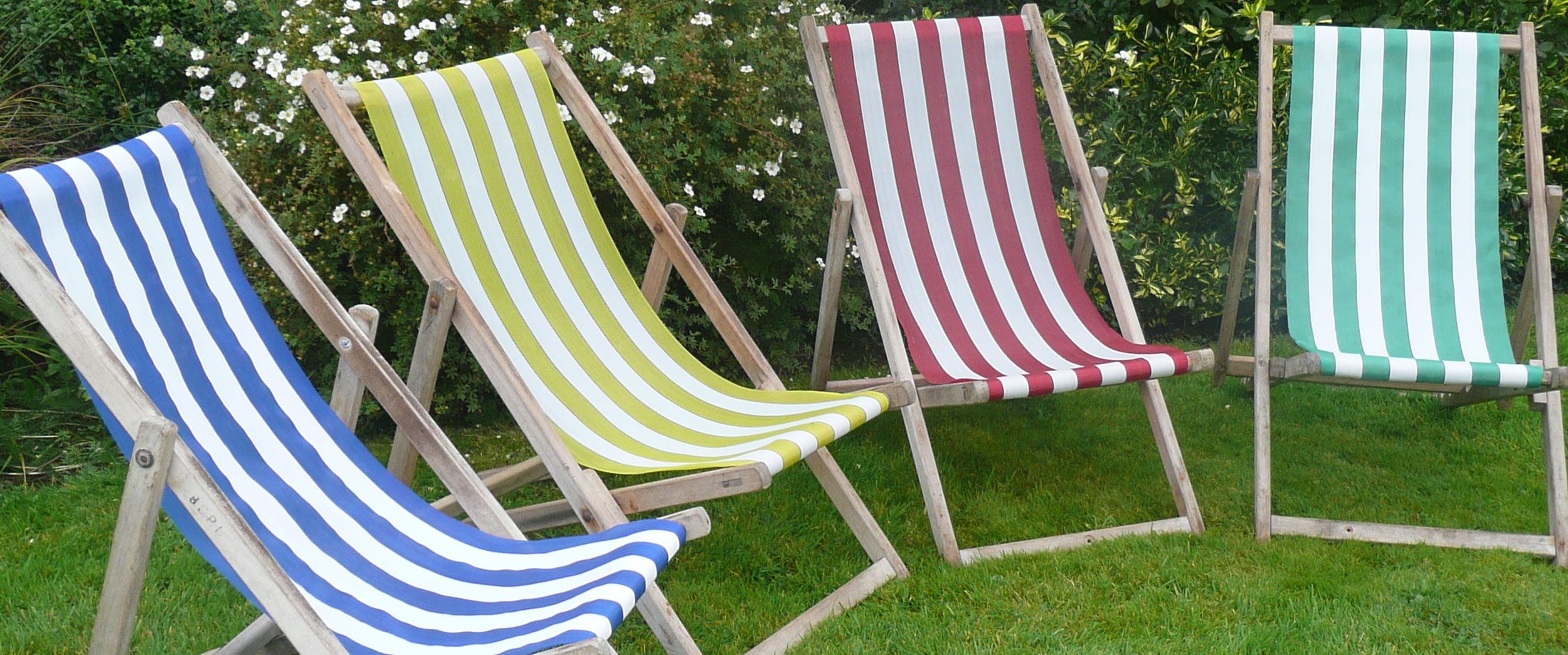 Deckchair Hire – The Stripes Company UK